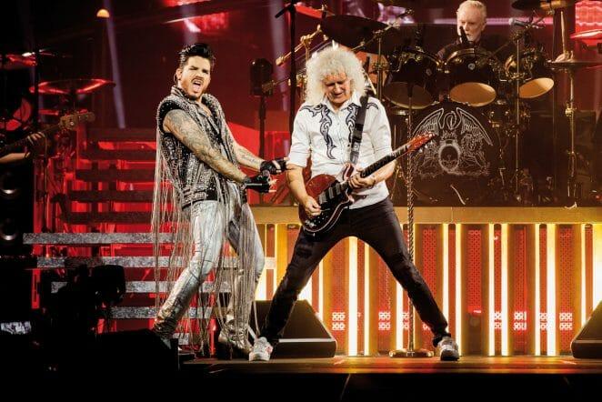 Queen Adam Lambert tour 2022