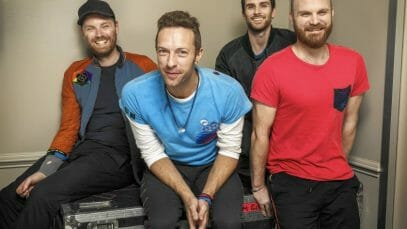 Coldplay tour 2022 - 2023