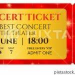 Concert Ticket prices In 2021